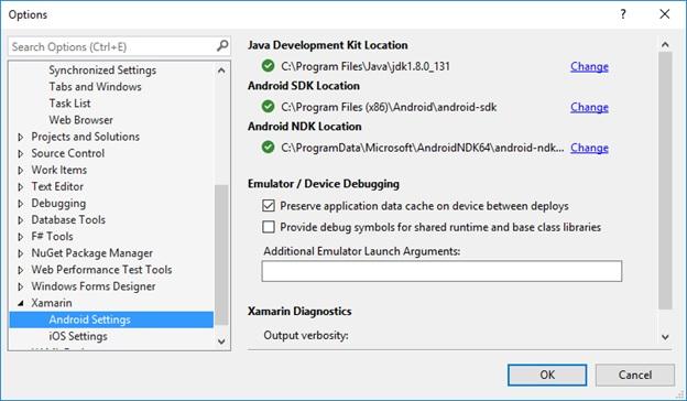Configure XAMARIN in Visual Studio 2015