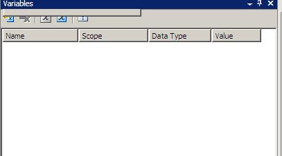 SSIS Creating Variables